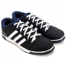 Giày thể thao nam Huy Hoàng cột dây màu đen HV7604