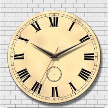 Đồng hồ tranh gỗ tròn - R0110