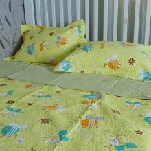 Chăn lẻ ong vàng 110x130 - BDL0831.1