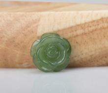 Hoa mẫu đơn Ngọc Bích Nephrite