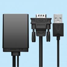 Cáp chuyển VGA to HDMI tích hợp Audio Ugreen UG-40213 chính hãng