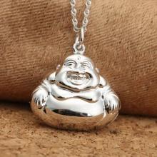 Mặt dây chuyền Phật Di Lạc 26x22mm bạc 925