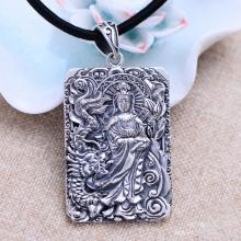 Mặt dây chuyền bạc Thái 925 handmade cho nam