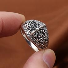 Nhẫn nam bạc Thái 925 handmade size 10 cho nam
