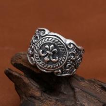 Nhẫn bạc nam size 9 handmade