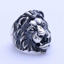 Nhẫn bạc nam sư tử bạc Thái 925 handmade