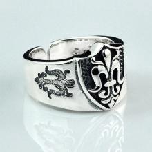 Nhẫn bạc Nam handmade Hadosa size mở