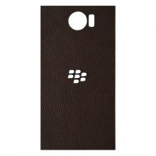DTR - Dán lưng da Blackberry Priv màu nâu