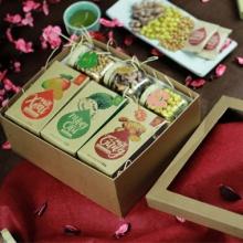 Hộp quà Tết thực phẩm cao cấp Hải Long
