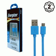 Cáp Micro USB Energizer Ultra Flat 1.2m (Xanh Dương)