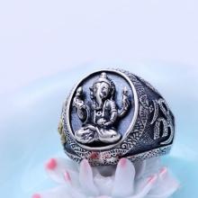 Nhẫn bạc nam Hadosa.2
