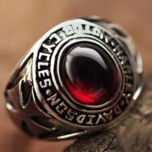 Nhẫn bạc nam handmade