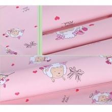 Combo 5m giấy decal cuộn cừu vui vẻ hồng DTL69