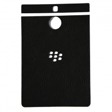 DTR -Dán lưng da Blackberry PassPort Silver màu đen