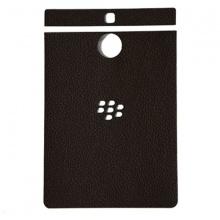 DTR -Dán lưng da Blackberry PassPort Silver màu nâu