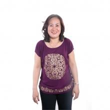 Áo kiểu nữ Ugether UPAR15 (Tím)
