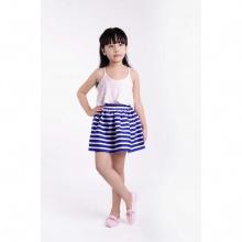 Chân váy bé gái Ugether UKID30 (sọc xanh)