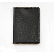 DTR - Bao da mộc BlackBerry Passport Silver gập ốp lưng màu đen
