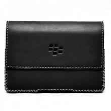 DTR - Bao da mộc BlackBerry Passport dạng đeo ngang màu đen