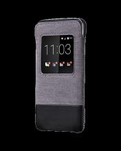 Bao cầm tay - BlackBerry leather pocket for DTek50 black fullbox chính hãng