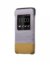 Bao cầm tay - BlackBerry leather pocket for DTek50 tan fullbox chính hãng