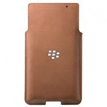 Bao cầm tay - BlackBerry leather pocket for Priv brow fullbox chính hãng
