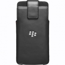 Bao đeo - BlackBerry leather swivel holster for DTek60 black fullbox chính hãng