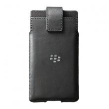 Bao đeo - BlackBerry leather swivel holster for Priv black fullbox chính hãng