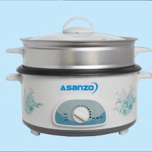 Asanzo : Nồi lẩu điện EP-30A1 (Dung tích: 3.0 lít - Công suất: 1.300W)
