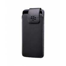 Bao đeo - BlackBerry leather swivel holster for DTek50 black fullbox chính hãng