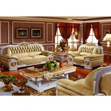 Bộ sofa 3 băng 1-1-3 tân cổ điển màu kem KH303S-SF