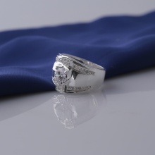 Nhẫn nam bạc và đính đá Ross Opal sis_16
