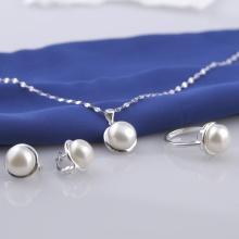 Set 4 sản phẩm bạc đính Ngọc Trai 9li Opal sis_55