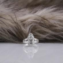 Nhẫn phong thủy bạc và đính đá Ross Opal 14_07