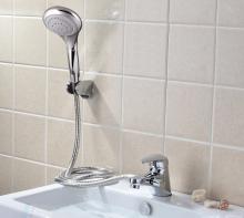 Bộ vòi chậu lavabo kết hợp sen tắm nóng lạnh ZT2043