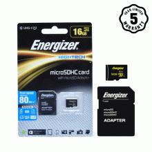 Thẻ nhớ micro SDHC 16GB Energizer Class10 UHS-I - 80MB/s