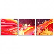 Tranh treo tường bộ 3 Thế Giới Tranh Đẹp POSTER HH00207- 40V