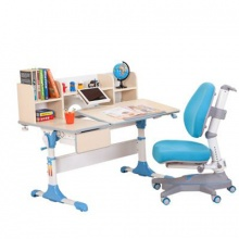 Bộ bàn học Singaye 102+215+Blue