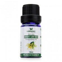 Tinh dầu ngọc lan tây Lorganic Ylang-Ylang 100% Natural Essential Oil 10ml