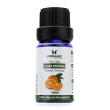Tinh dầu cam hương Lorganic sweet orange natural essential oil 10ml
