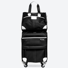 Bộ vali vải bố cao cấp DS805BLA18 - Black