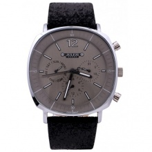 Đồng hồ nam Julius Hàn Quốc JAH-098B (đen mặt xám)