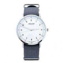 Đồng hồ nam dây vải Julius Hàn Quốc JA-914 JU1147 (xám)