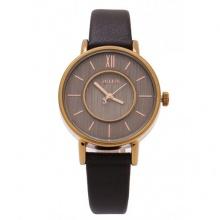 Đồng hồ nữ Julius Hàn Quốc dây da JA-1041E (đen)