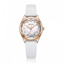 Đồng hồ Julius Hàn Quốc dây da JA-973B JU1233 (trắng)