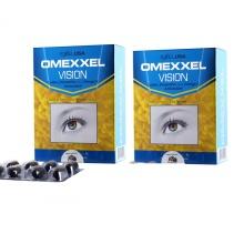 Combo 2 Hộp thực phẩm chức năng viên uống bổ mắt Omexxel Vision (30 Viên 1 Hộp) Chính hãng Hoa Kỳ