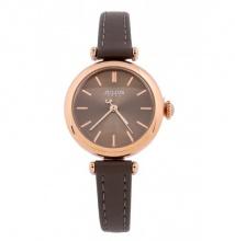 Đồng hồ nữ Julius Hàn Quốc dây da JA-1018 (xám)
