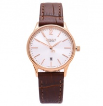 Đồng hồ nữ Julius limited Hàn Quốc dây da JAL-042LD (nâu)