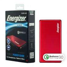 Pin sạc dự phòng Energizer 15,000mAh Quick Charge 3.0 - UE15002CQRD (Đỏ)