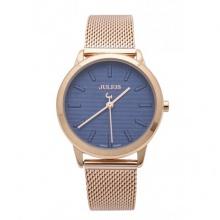 Đồng hồ nữ Julius Hàn Quốc dây thép JA-982 JU1231 (đồng xanh)